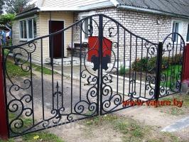 Ворота и калитка Vajure.by