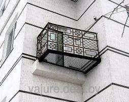 Балкон кованый