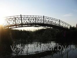 Мост кованый_каркас+перила