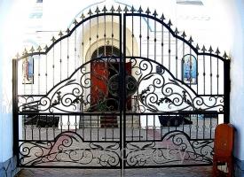 Кованые ворота Vajure.by