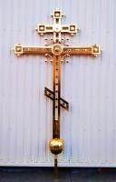 Крест купольный из нержавейки