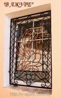 Кованые решетки, решетки на окна