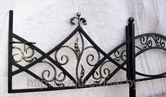 Оградка кованая Vajure.by