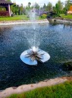 фонтан плавающий из нержавейки