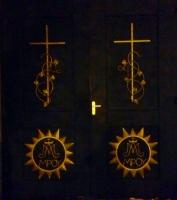 дверь металлическая в костел